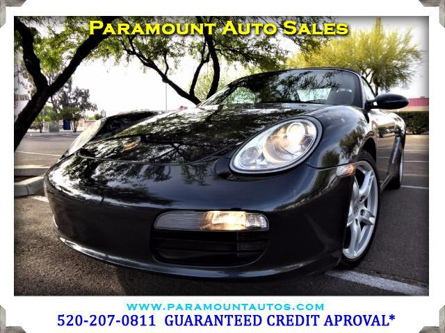 2005 Porsche Boxster ONLY 58K MILES ABSOLUTELY EXCELLENT CAR ALL IT NEEDS IS A DRIVER ARGUABLY T