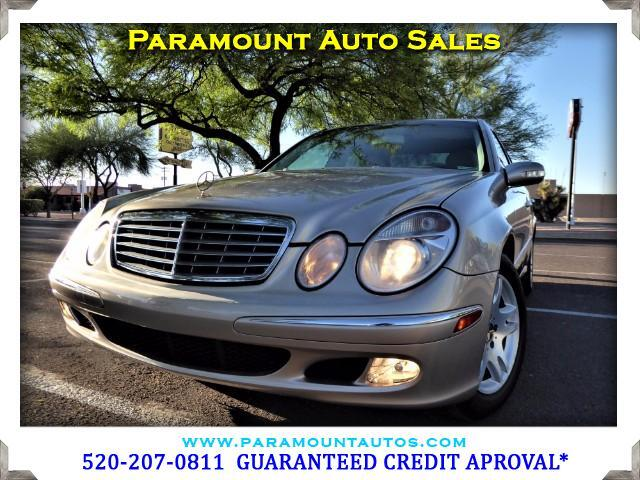 2003 Mercedes E-Class GUARANTEED CREDIT APPROVAL CALL FOR DEATAILS  Visit Paramount Auto Sa