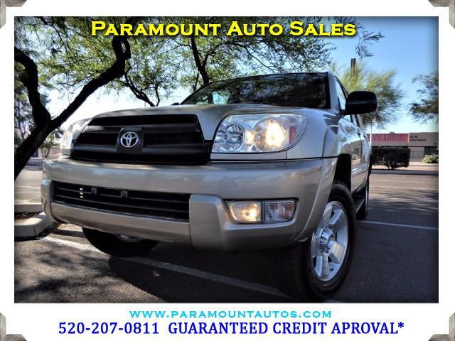 2004 Toyota 4Runner GUARANTEED CREDIT APPROVAL CALL FOR DEATAILS  Visit Paramount Auto Sale