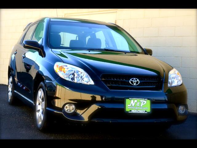 2008 Toyota Matrix XR 2WD
