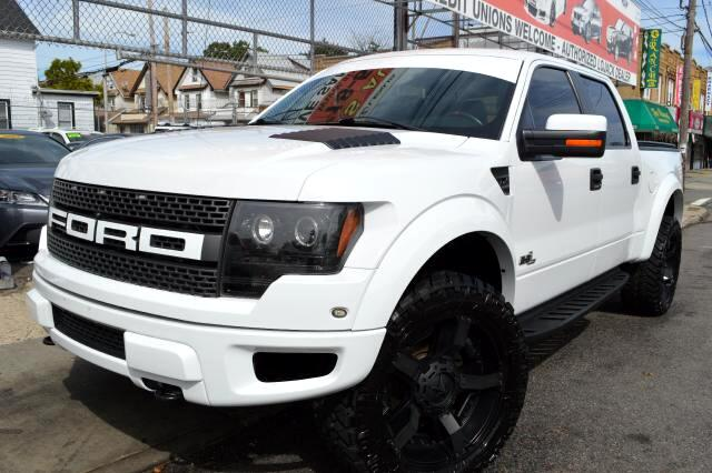 2012 Ford F-150 SVT Raptor SuperCrew 5.5-ft. Bed 4WD