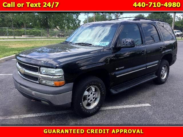 2001 Chevrolet Tahoe 4WD 4dr LT