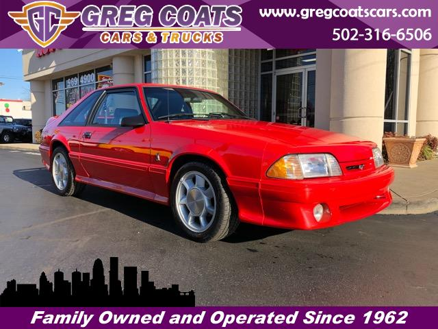 1993 Ford Mustang Cobra hatchback