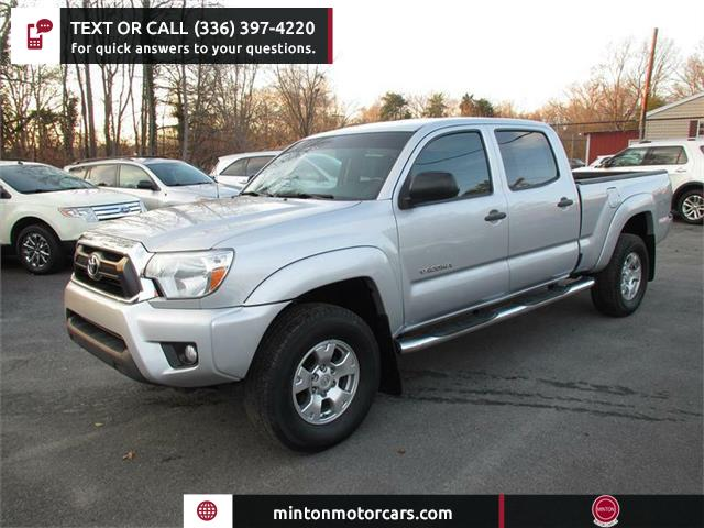 2012 Toyota Tacoma PreRunner Double Cab Long Bed V6 2WD