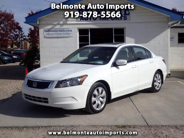 2010 Honda Accord EX-L Sedan AT with Navigation