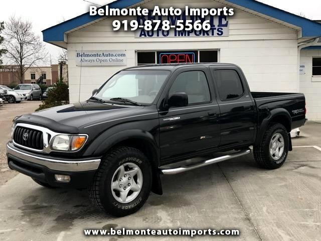 2002 Toyota Tacoma TRD-Off Road Double Cab 2WD