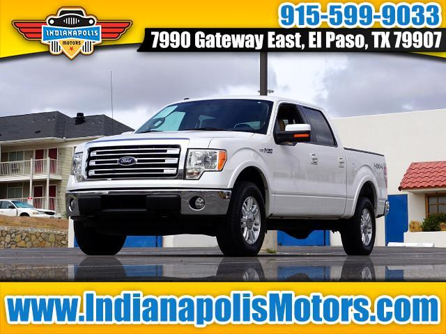 2013 Ford F-150 Lariat SuperCab 4WD