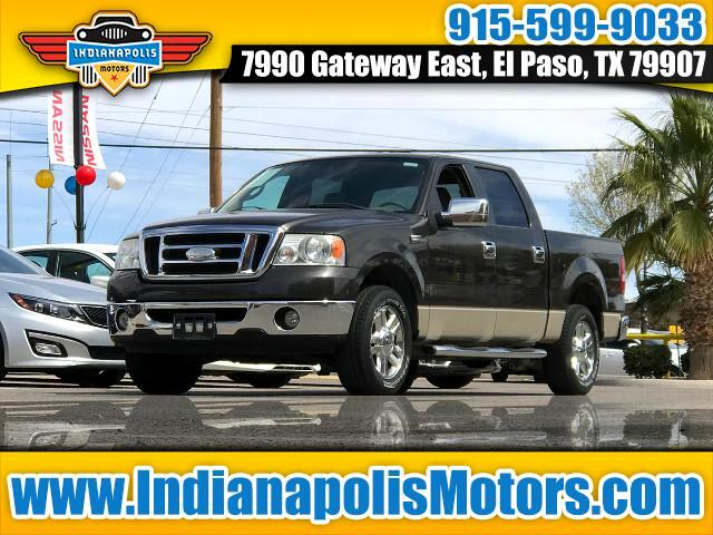 "2007 Ford F-150 2WD SuperCrew 145"" XLT"