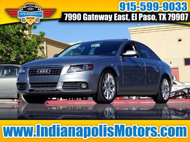 Used 2011 audi a4 sold in el paso tx 79907 indianapolis motors for Indianapolis motors el paso tx