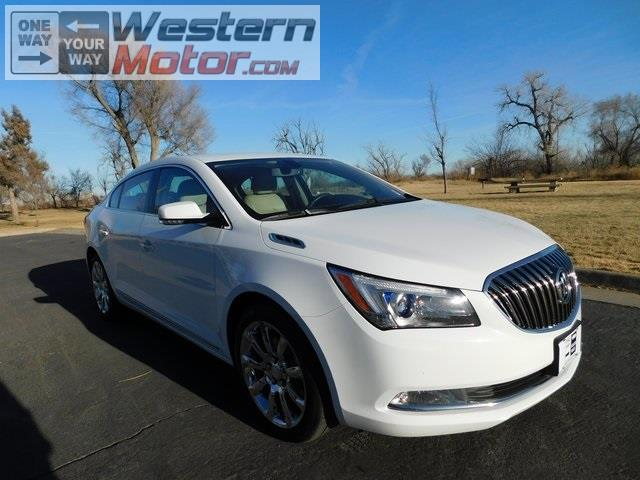 2014 Buick LaCrosse Premium Package 1, w/Leather
