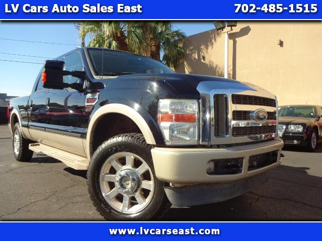 "2008 Ford Super Duty F-250 Crew Cab 156"" King Ranch 4WD"