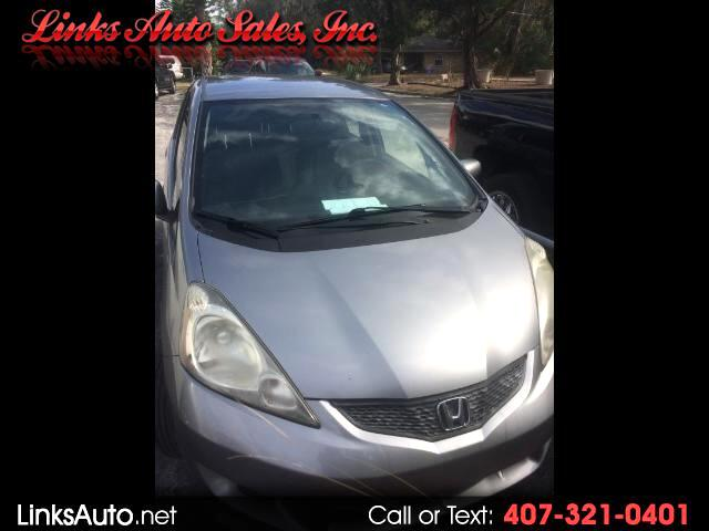2009 Honda Fit Sport 5-Speed AT with Navigation