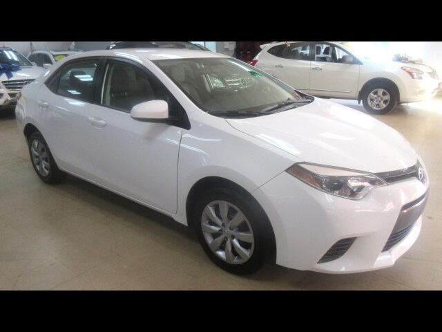 2016 Toyota Corolla LE CVT