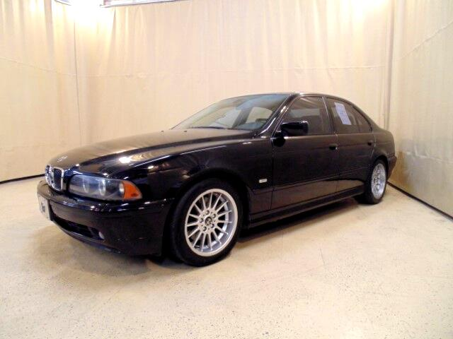 2002 BMW 5-Series 540i 6-speed