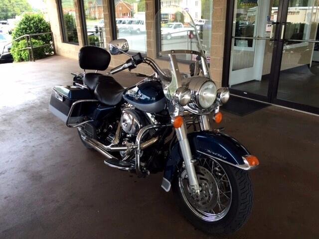 2002 Harley-Davidson FLHR Motorcycle