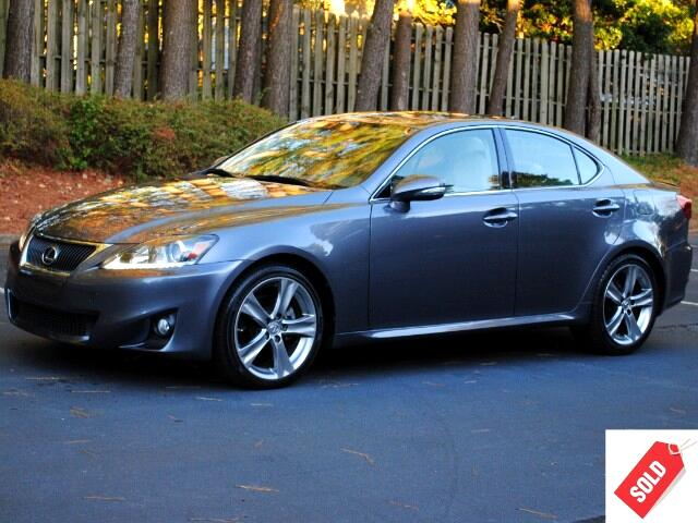 2012 Lexus IS 250 Sedan Premium