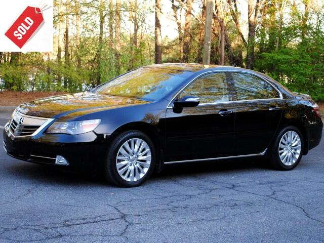 2011 Acura RL Advance Technology Package