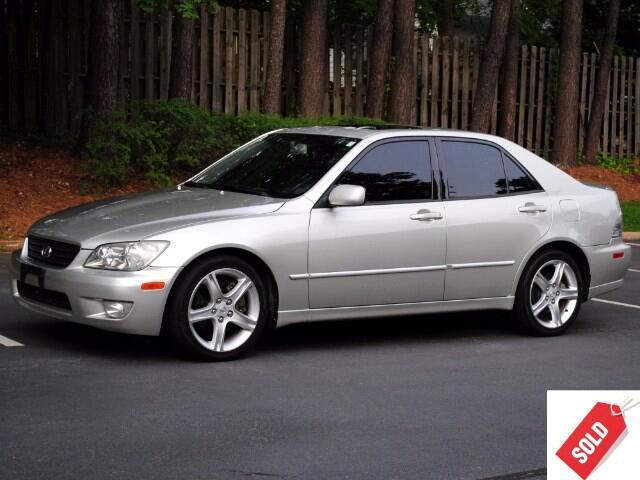 2003 Lexus IS 300 5-Speed Sedan