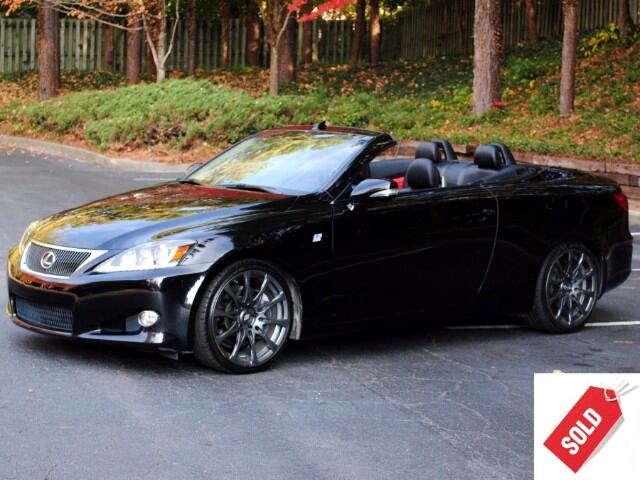 2011 Lexus IS C 350 F Sport Premium Navigation