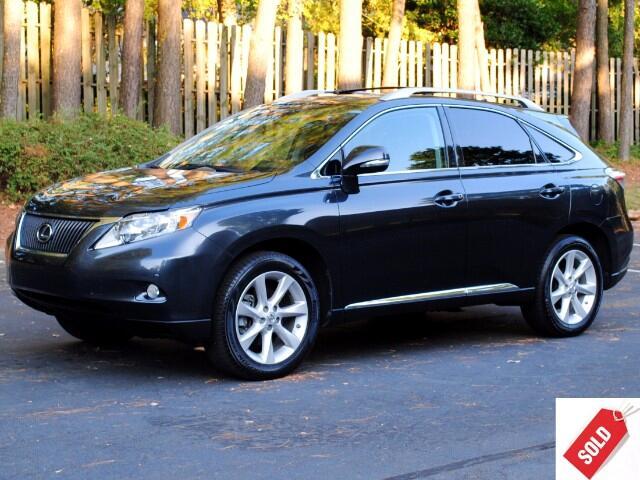 2011 Lexus RX 350 Premium Navigation
