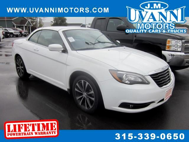 2012 Chrysler 200 S Convertible