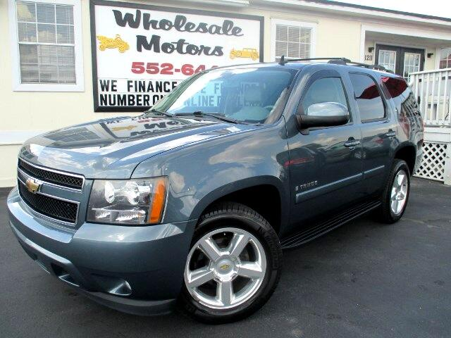 used 2009 chevrolet tahoe for sale in fuquay varina nc 27526 wholesale motors. Black Bedroom Furniture Sets. Home Design Ideas