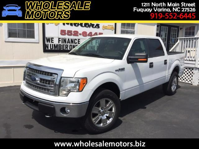 2013 Ford F-150 XLT SuperCab 5.5-ft. Bed 4WD
