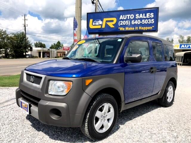 2004 Honda Element EX 2WD AT w/ Front Side Airbags