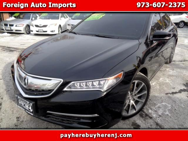 2015 Acura TLX 9-Spd AT w/Technology Package