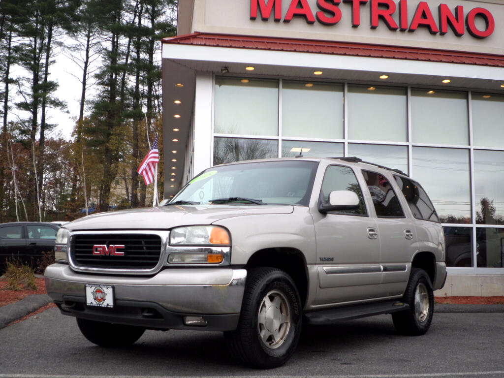 2005 GMC Yukon 4WD ALL POWER OPTIONS BOSE STEREO SYSTEM