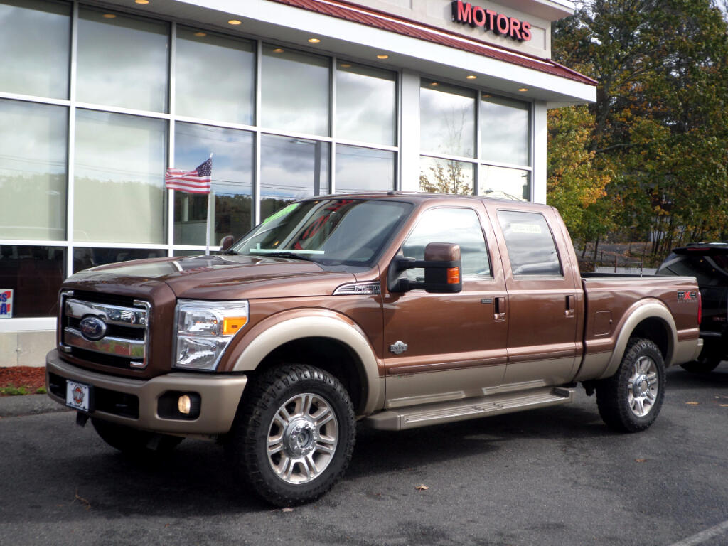 2011 Ford F-250 SD KING RANCH POWERSTROKE DIESEL A MUST SEE!!