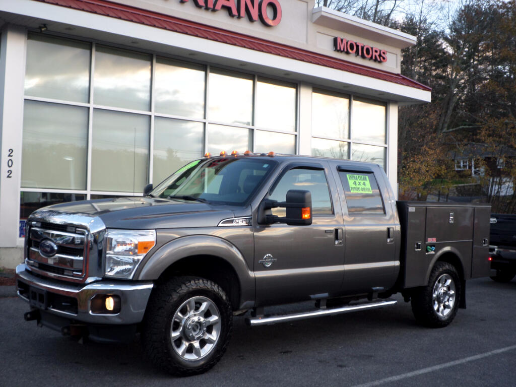 2014 Ford F-350 SD POWERSTROKE DIESEL LARIAT UTILITY BODY!!!