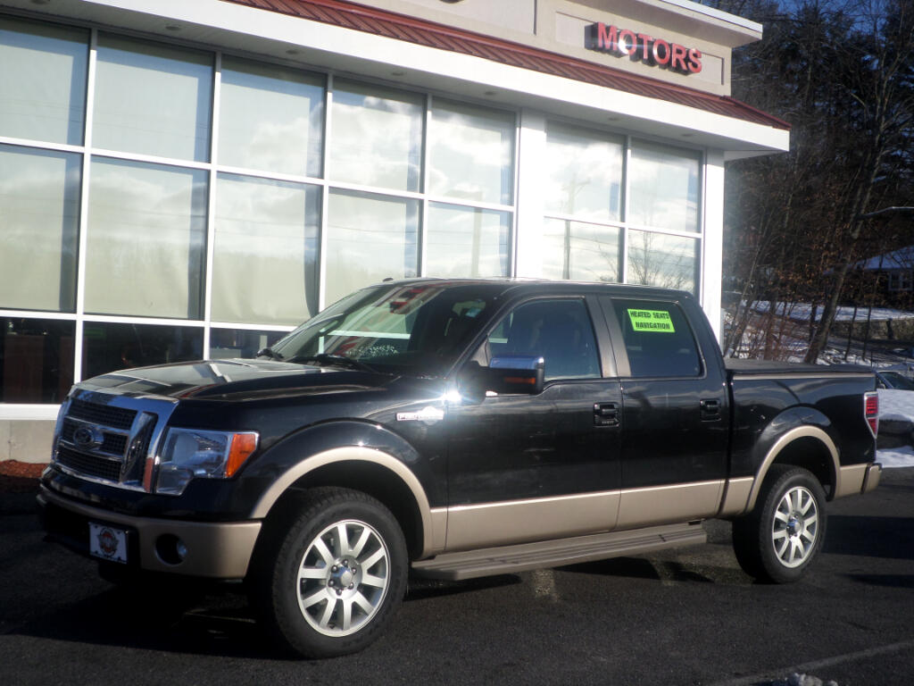 2012 Ford F-150 FULLY LOADED KING RANCH ALL THE OPTIONS
