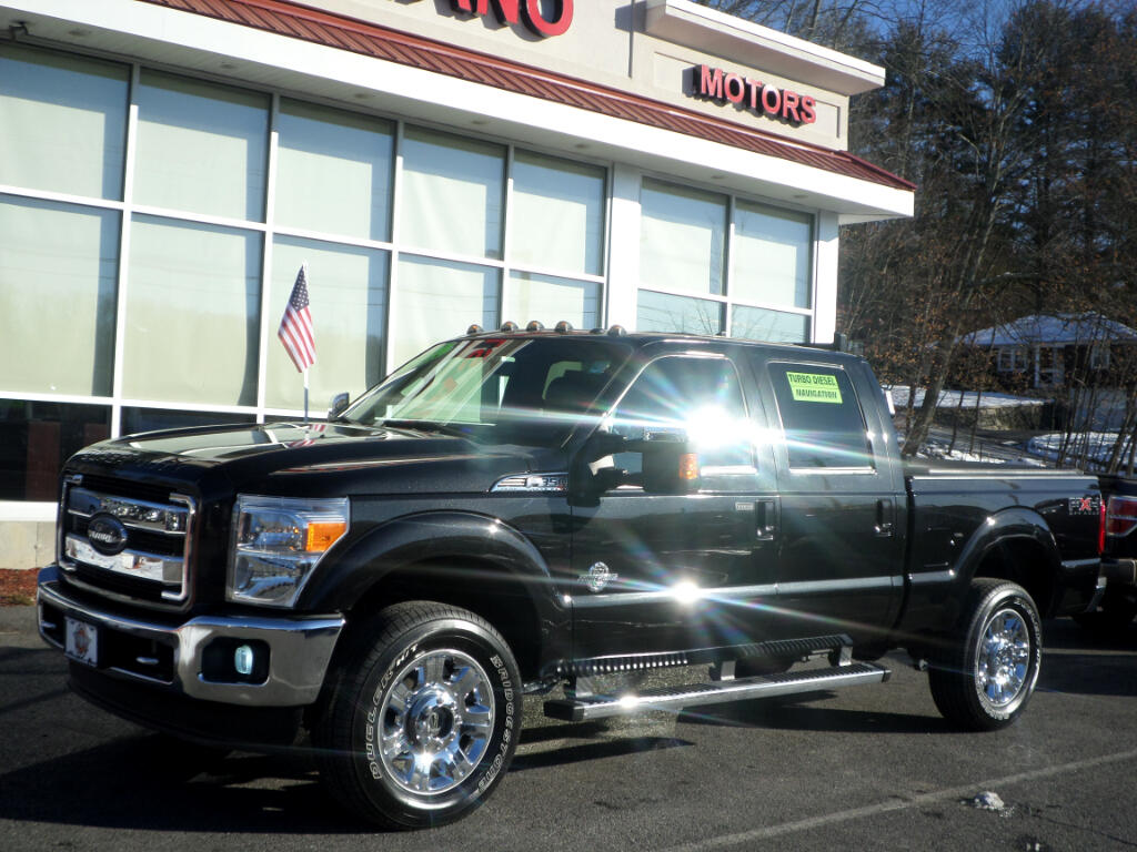 2012 Ford F-350 SD POWERSTROKE DIESEL LARIAT FULLY LOADED!!