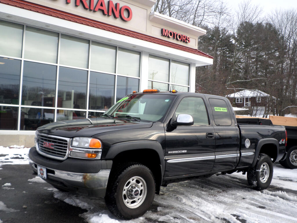 2002 GMC Sierra 2500HD SLT 4x4 LOADED WITH HEATED LEATHER