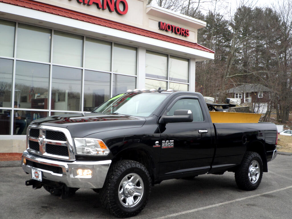 2014 RAM 2500 CUMMINS TURBO DIESEL SLT 4X4 W/ MM2 PLOW!!
