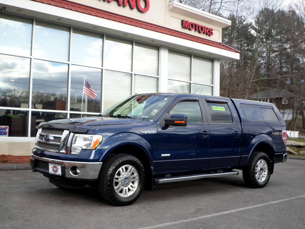 2012 Ford F-150 SUPERCREW LARIAT 4WD