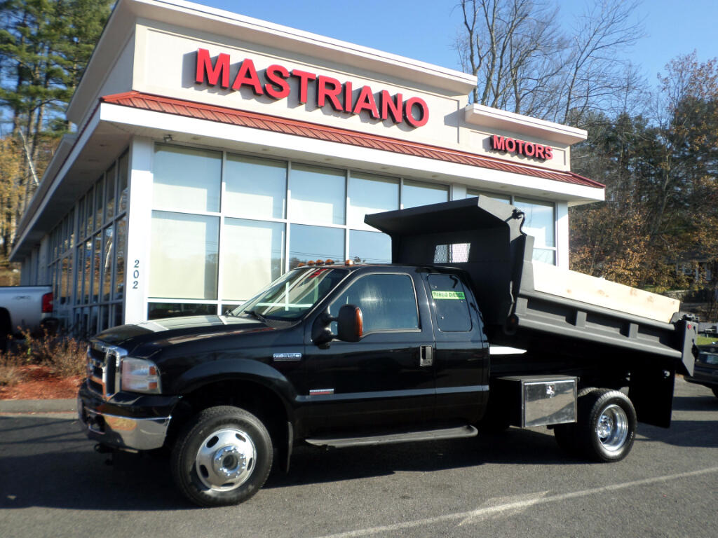 2005 Ford F-350 SD SUPERCAB 4x4 POWERSTROKE DIESEL DUMP W/ 9FT. BOSS