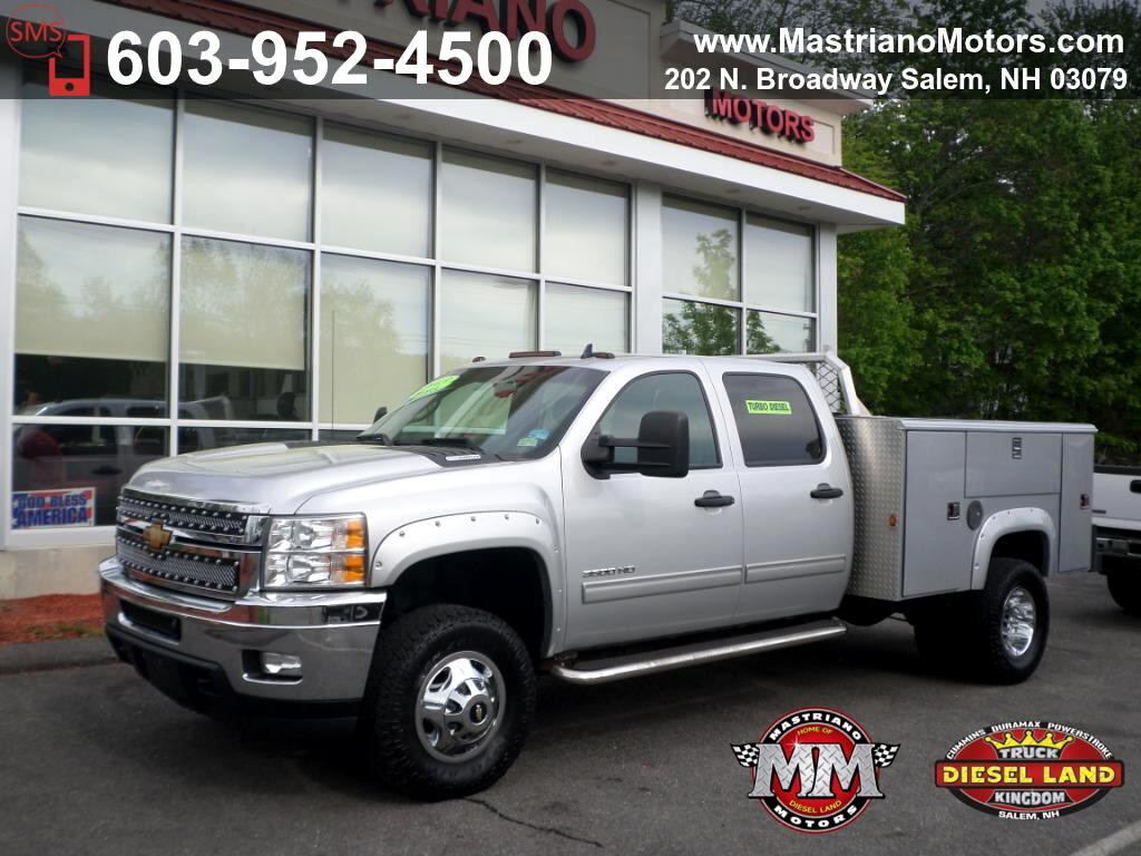 2013 Chevrolet Silverado 3500HD crew cab DURAMAX DIESEL READING UTILITY BODY