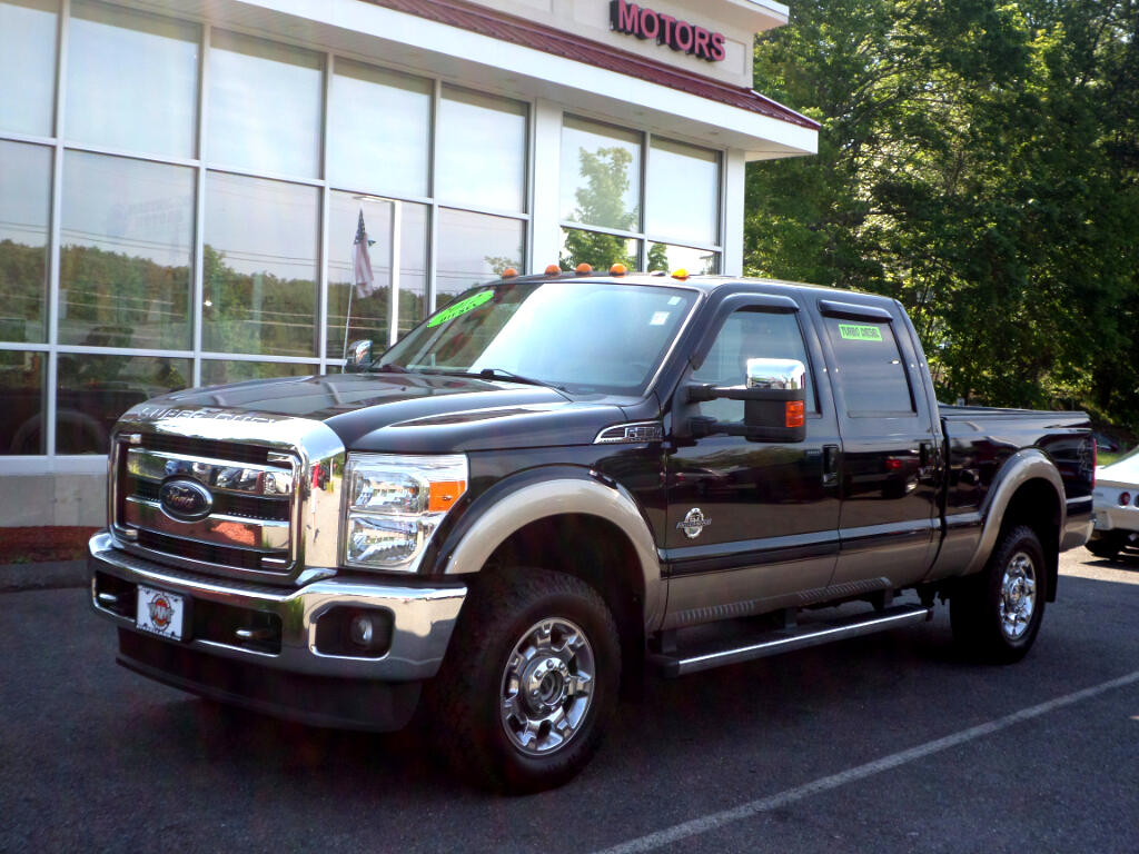 2012 Ford F-350 SD CREW CAB LARIAT POWERSTROKE DIESEL