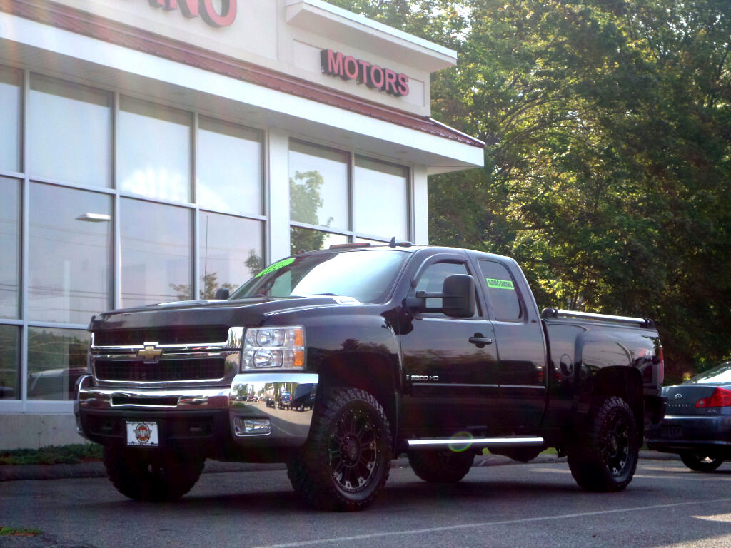 2007 Chevrolet Silverado 2500HD DURAMAX DIESEL LTZ BLACK ON BLACK