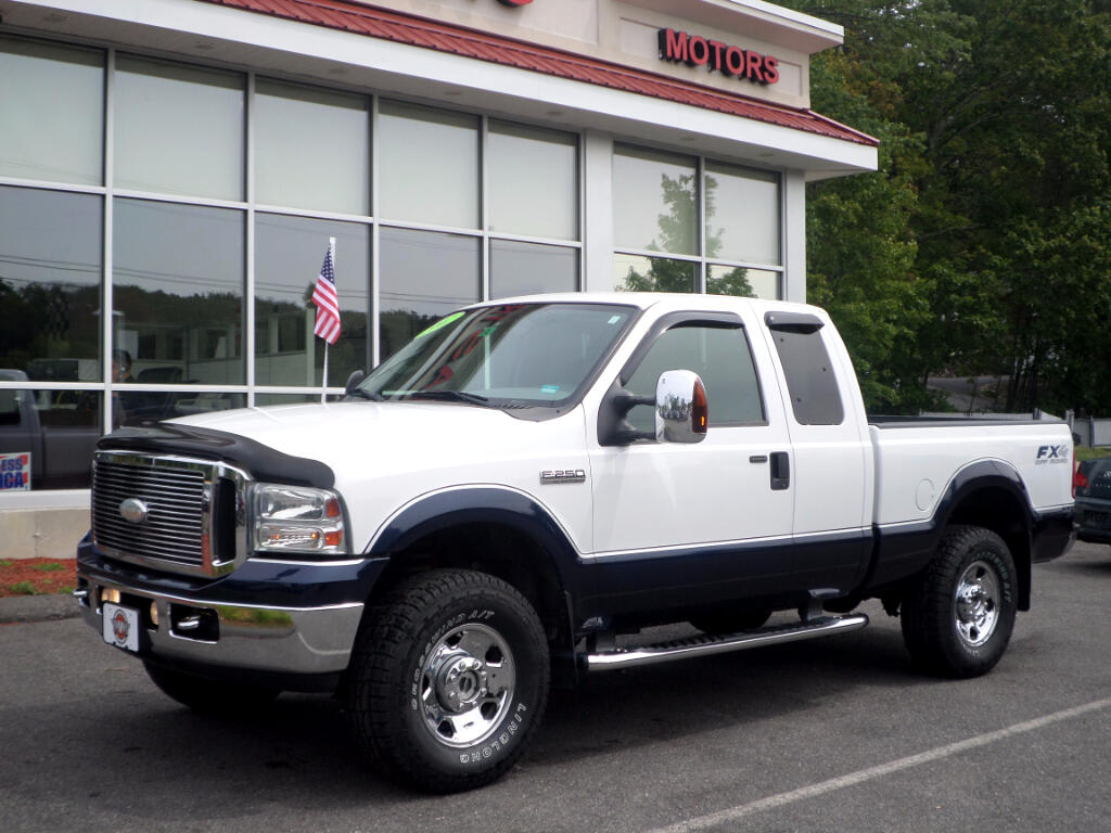 2007 Ford F-250 SD XLT SUPERCAB 4x4