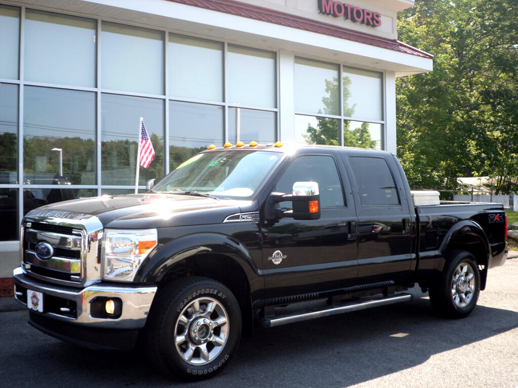 2011 Ford F-250 SD POWERSTROKE DIESEL CREW CAB FX4 LARIAT