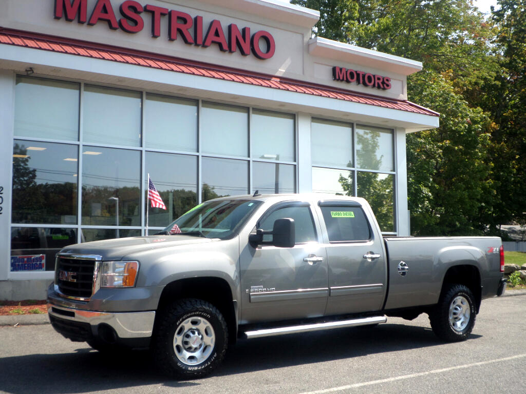 2008 GMC Sierra 2500HD DURAMAX DIESEL CREW CAB LEATHER HEATED SEATS