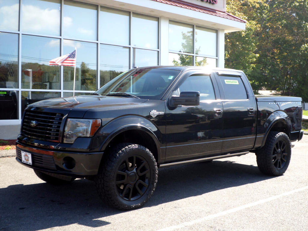2010 Ford F-150 HARLEY DAVIDSON CREW CAB LIFTED!!