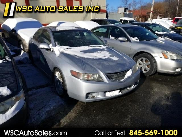 2004 Acura TSX 6-Speed MT with Tech Package