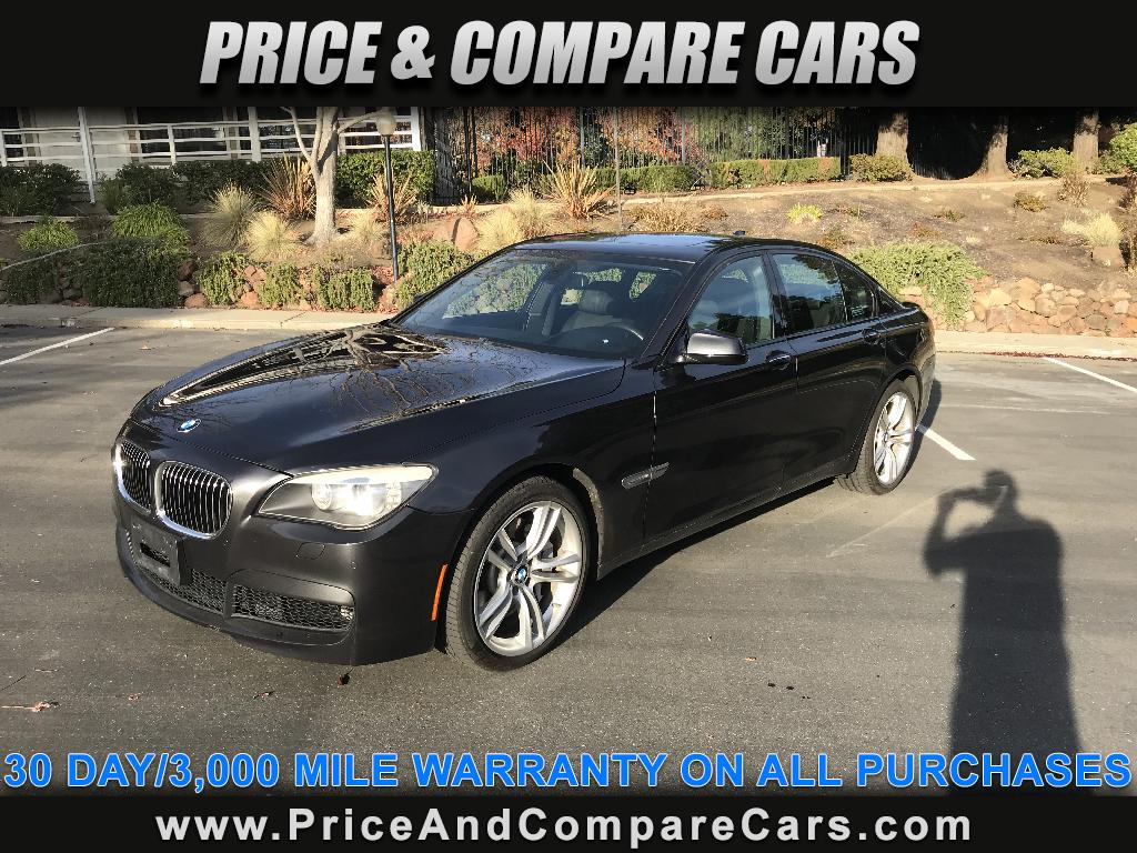 2012 BMW 750i M SPORT PACKAGE