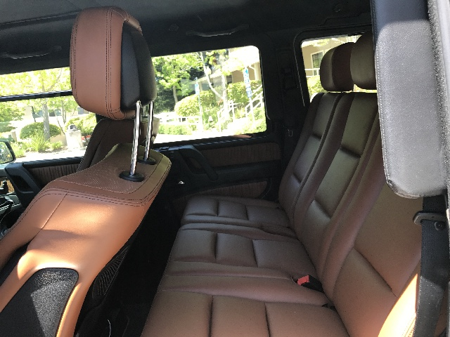 2014 Mercedes-Benz G-Class Larry Ellison,s Fully armored g63 one of a kind