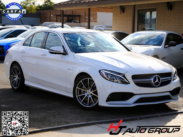 2016 Mercedes-Benz C-Class C63 AMG Sedan