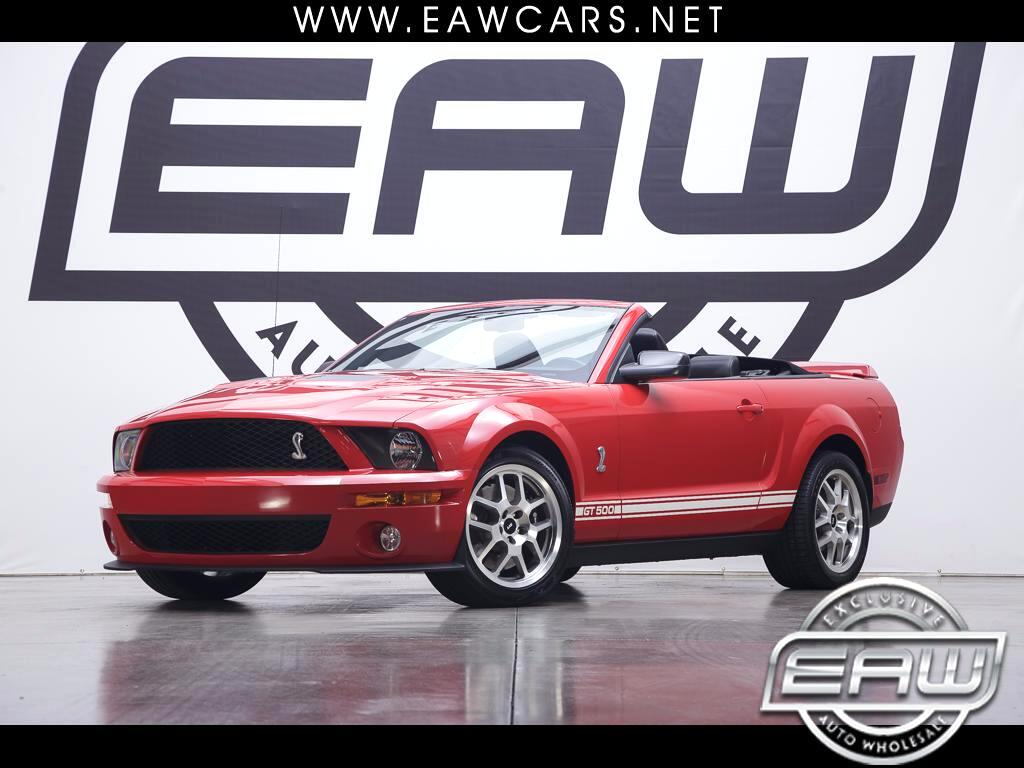 2007 Ford Shelby GT500 Convertible
